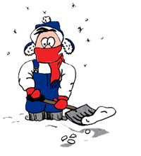 Cartoon Shoveler